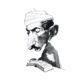 Bahman Abdi {Portrait of Aref Qazvini}